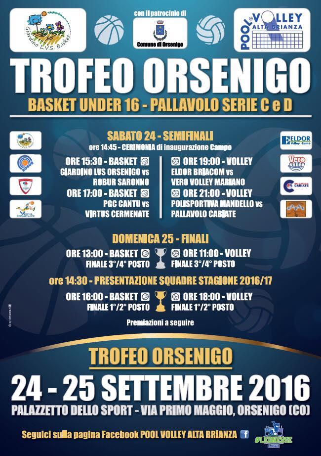 Orsenigonews for Giardino trofeo